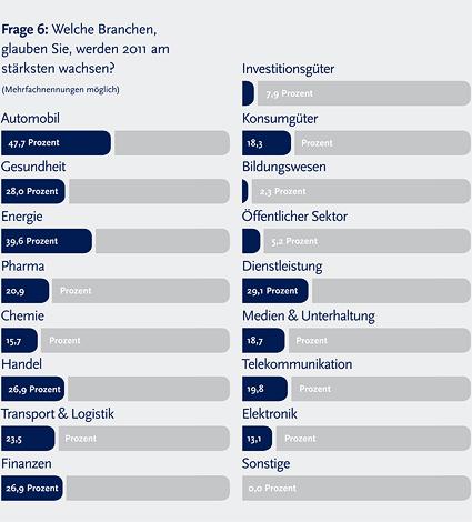 Marktstudie: Ausblick Projektmarkt 2011 - 6