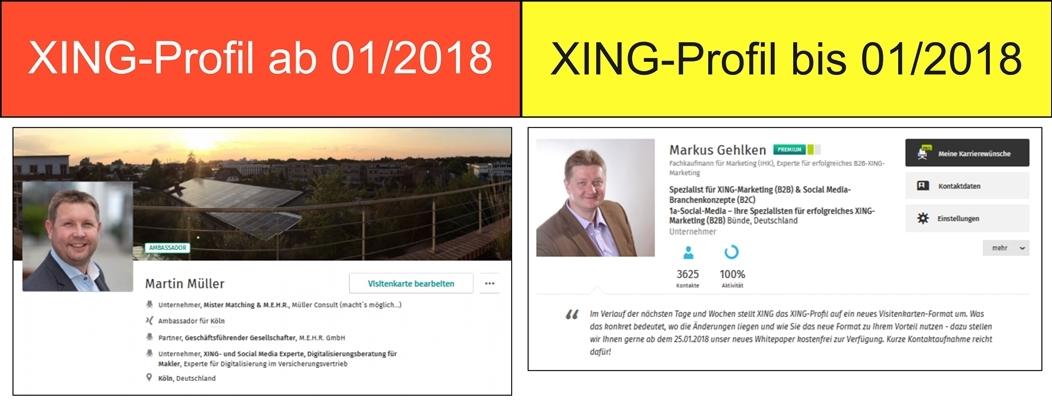 Neues Visitenkarten Format Bei Xing So Nutzen Sie Die