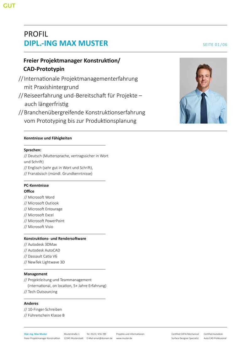 Schön Projektleiter Konstruktion Fortsetzen Zeitgenössisch - Entry ...